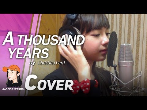 A Thousand Years - Christina Perri cover by Jannine Weigel (พลอยชมพู) (Re-upload)