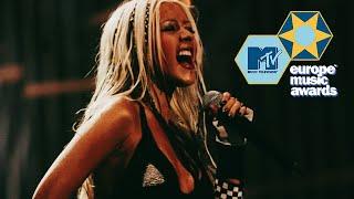 Christina Aguilera - Dirrty (Live MTV EMAs 2002)