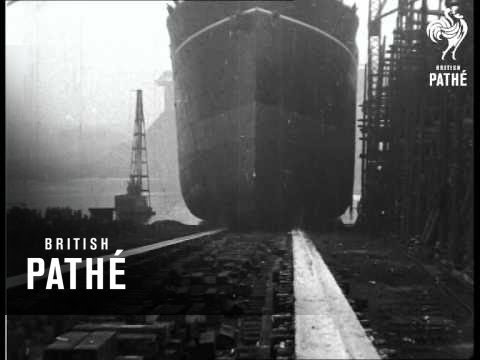 Liner Launched (1924)