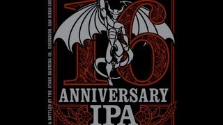 Stone 16th Anniversary IPA (10% ABV) | Beer Geek Nation Beer Reviews Episode 366