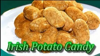 Irish Potato Candy For St. Patrick's Day