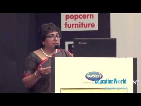 Renu Singh as a keynote speaker at the Early Childhood Education Conference 2015