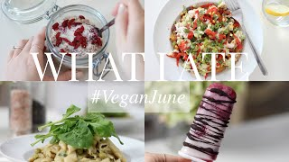 What I Ate #VeganJune 16 (Vegan/Plant-based) | JessBeautician