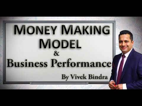 Money Making Model and Business Performance by Top Leadership CEO Coach India Mr Vivek Bindra.