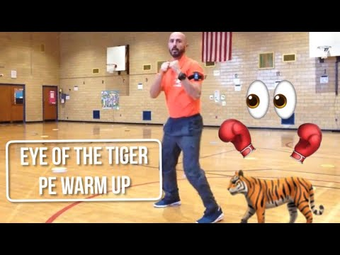 PhysEdZone: Eye of the Tiger PE warm-up