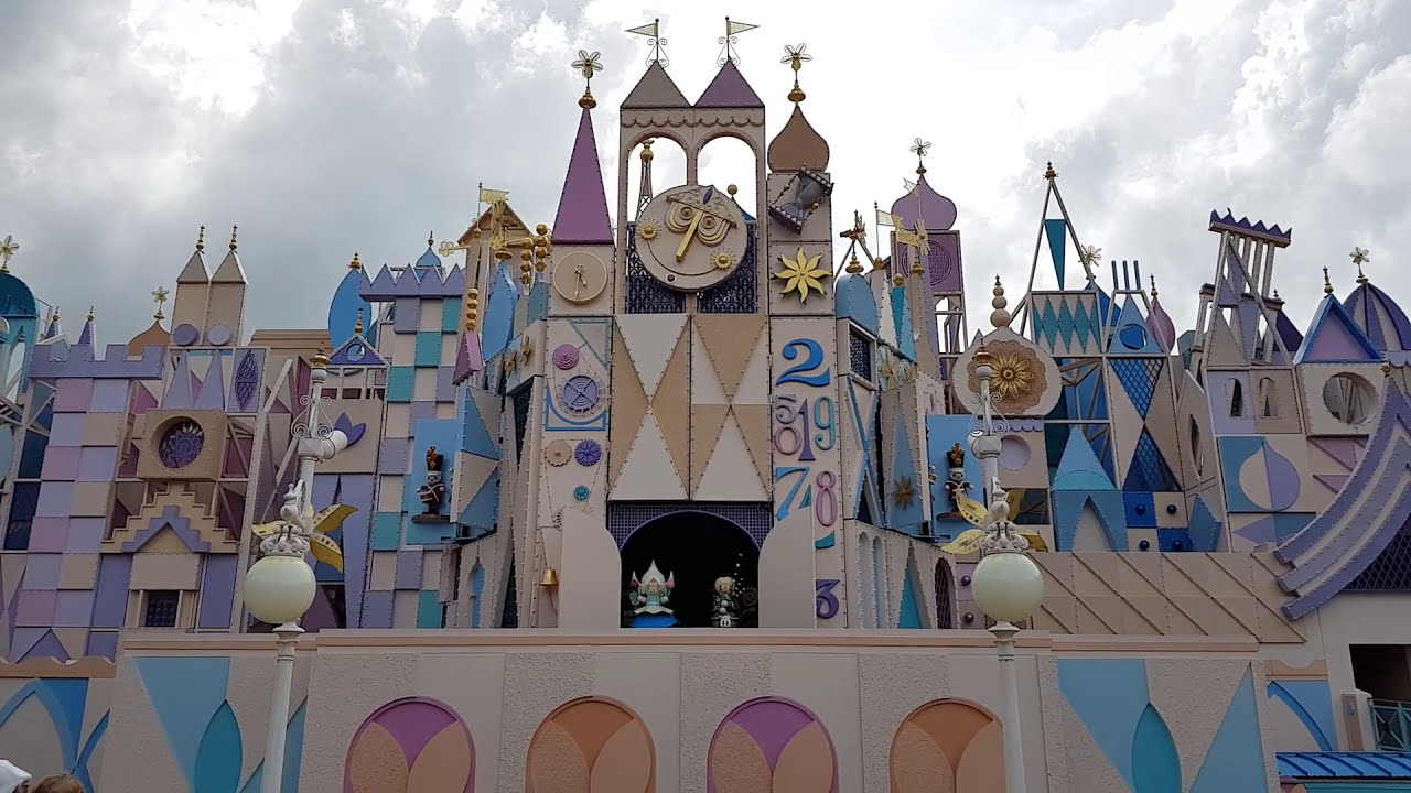 Its A Small World Clock Tower YouTube