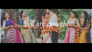 """You are enough"" 