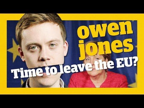 Should the left leave the EU?   Owen Jones talks...