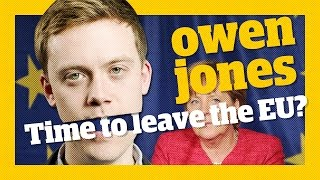 Should the left leave the EU? | Owen Jones talks...