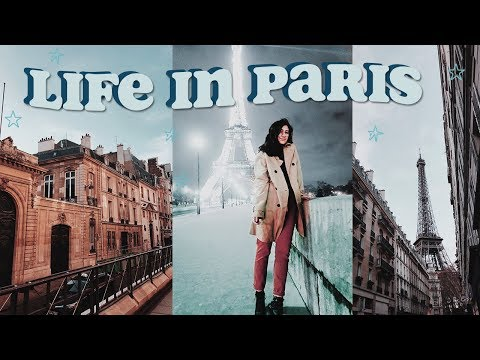 first day of class + adjusting to life in paris | study abroad