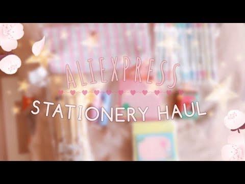 Aliexpress stationery HAUL #2