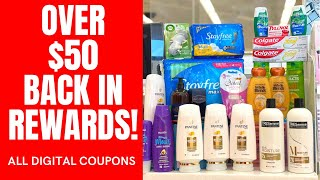 Walgreens Couponing | HUGE HAUL | All Digital Coupons | Over $70 in Rewards! #couponing #walgreens