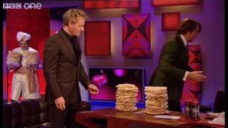 Poppadom Tower -  Friday Night with Jonathan Ross - BBC One