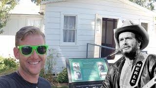 "#643 MERLE HAGGARD ""Boxcar"" Childhood Home! Bakersfield KERN COUNTY MUSEUM (5/11/2018)"