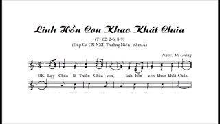 Linh Hồn Con Khao Khát Chúa TV62  -     Mi Giáng    -  S .