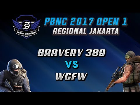Bravery389 vs WGFW | PBNC OPEN 1 JAKARTA @Sentinel Cyber Arena | MAP SAFEHOUSE