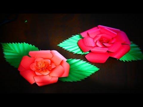 DIY PAPER ROSE...
