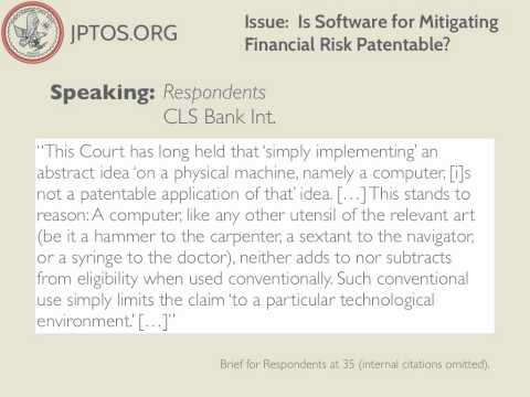 Alice Corp. v. CLS Bank Int.: SCOTUS Addresses Software Patents