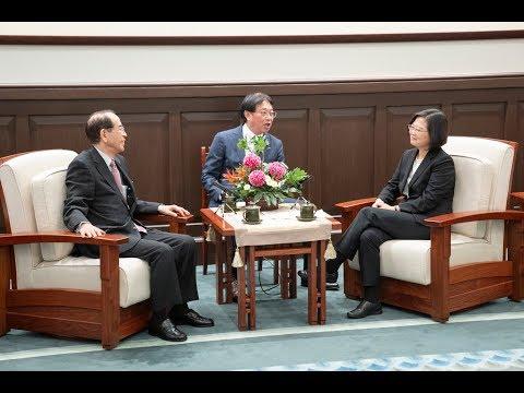20190724 總統接見「日本台灣交流協會大橋光夫會長」
