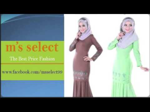 The Best Baju Kurung Moden/Baju Murah/Muslimah Dress