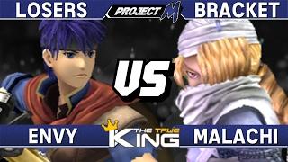 Project M - Envy (Ike/Fox/Diddy) vs Malachi (Sheik) - The True King Losers