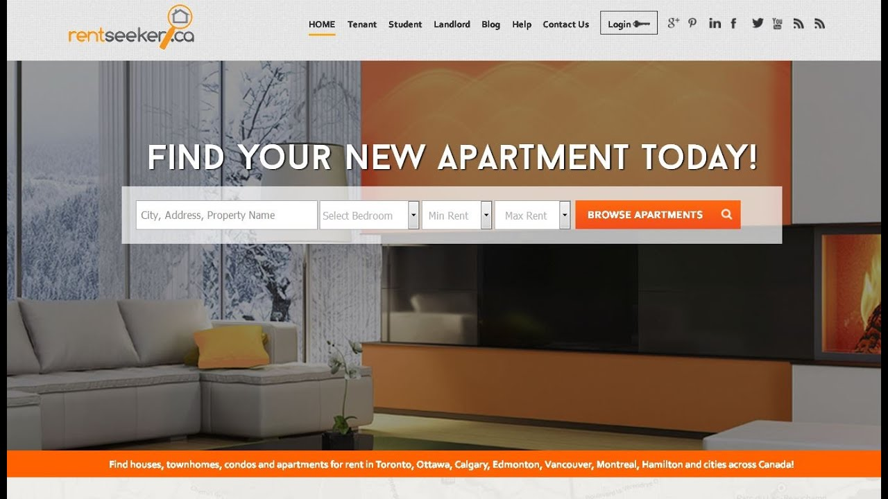 RentSeeker.ca: Canada's #1 Apartment Finder & Real Estate Marketing Website!