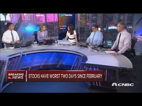 Stocks are crashing, here\'s how to know when it\'s safe to buy stocks