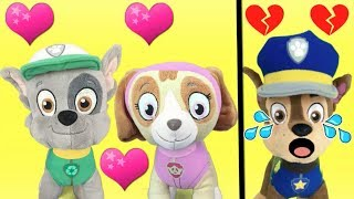 Patrulla canina en español: Skye y Rocky van al parque.Videos peppa pig y bebes de paw patrol