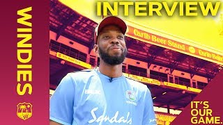 Roston Chase's Dream Test Cricket Career | Interview