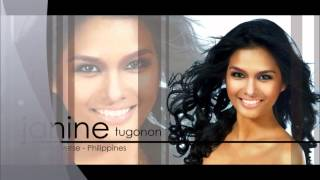 Miss Philippines for MISS UNIVERSE 2012 (Janine Tugonon)
