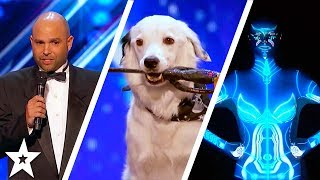 America's Got Talent 2017 Week 5 Auditions | Oskar and Gaspar, Sara Carson and Hero & More!!