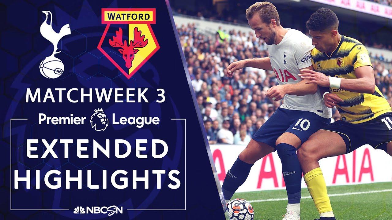 Download Tottenham v. Watford   PREMIER LEAGUE HIGHLIGHTS   8/29/2021   NBC Sports