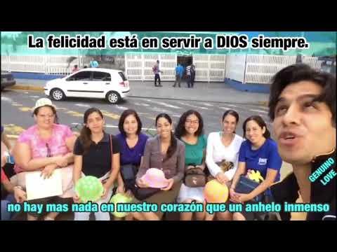 La felicidad está en AMAR y servir a DIOS siempre. Genuino LOVE