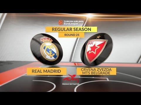Highlights: Real Madrid-Crvena Zvezda mts Belgrade