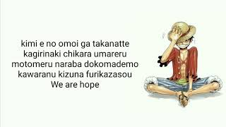 One Piece Op - Hope | Cover By Raon Lee (Lyric)