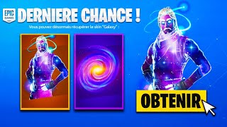 "REVEDE YOUR ""SKIN GALAXY"" FOR FREE IT'S YOUR LAST CHANCE ON FORTNITE!"