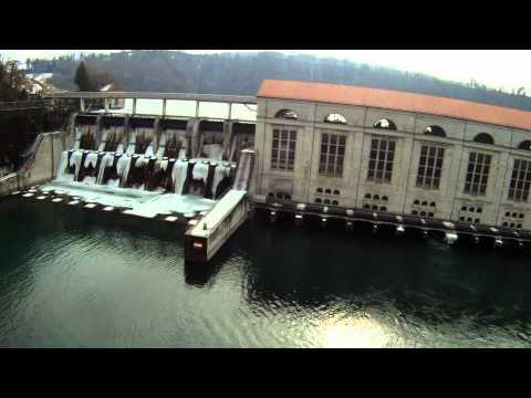 Wasserkraftwerk WKW Mühleberg bei Bern