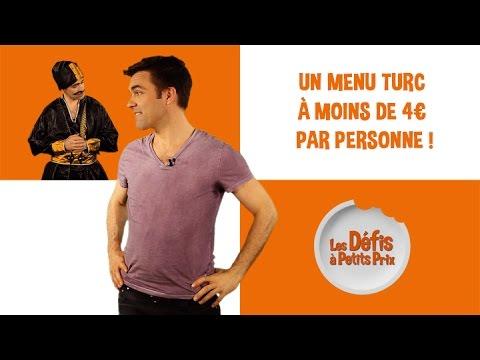 Menu Turc à moins de 4€ ! Défis à Petits Prix