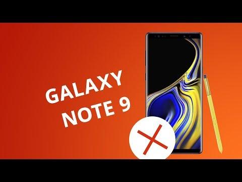 5 motivos para NÃO comprar o Galaxy Note 9 da Samsung