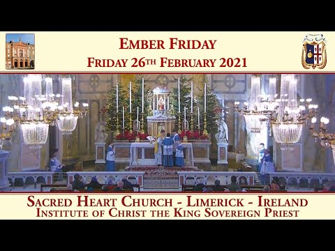 Friday 26th February 2021: Ember Friday in Lent