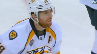 James Neal Hard Slash to the Hand of Keith Yandle