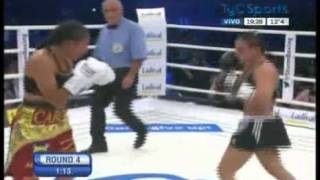 Susi KENTIKIAN vs Carina MORENO - II - WBA - Full Fight - Pelea Completa