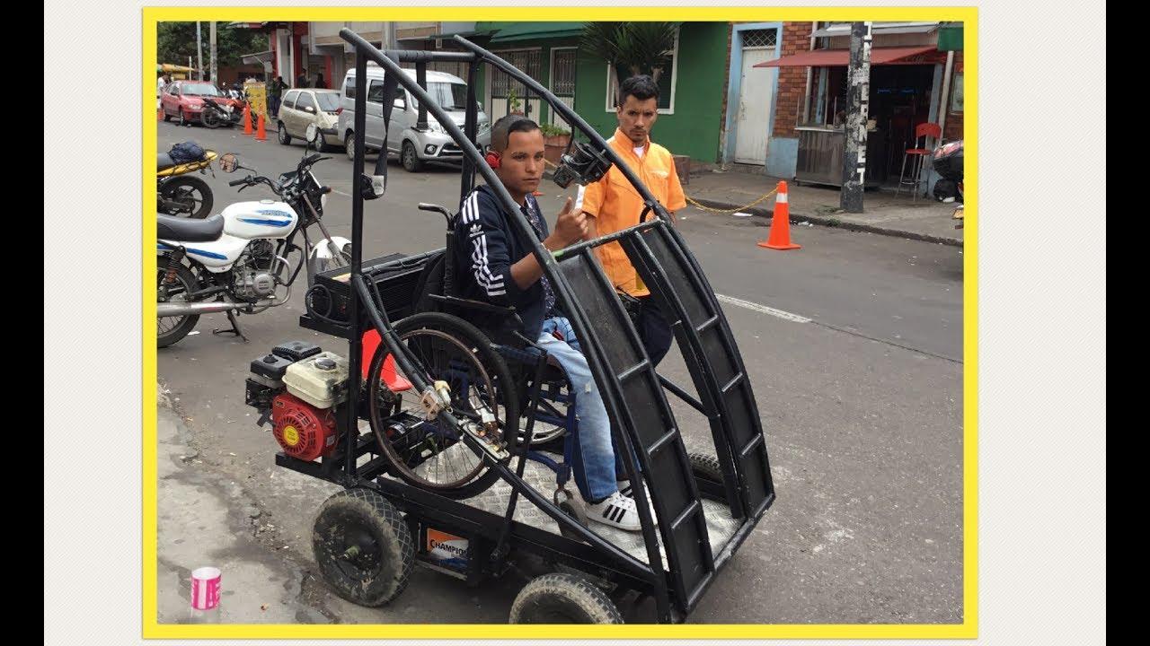 Auto el ctrico para personas con discapacidad y que for Sillas para discapacitados