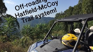 Offroading in 4 passenger Polaris 900 TZR at Hatfield McCoy Trails- Sept 2016 thumbnail