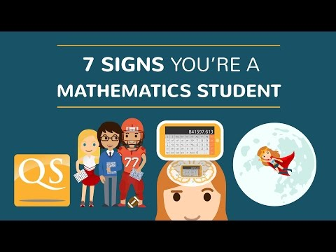 7 Signs You're a Mathematics Student