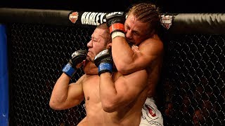 Standing Rear Naked Choke Finishes in UFC History
