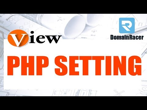 View PHP Settings - (Example Phpinfo.php Page)