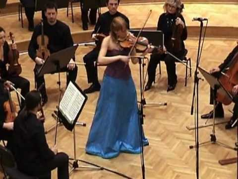 TANJA SONC, violin & Slovenian Philharmonics Chamber Orchestra