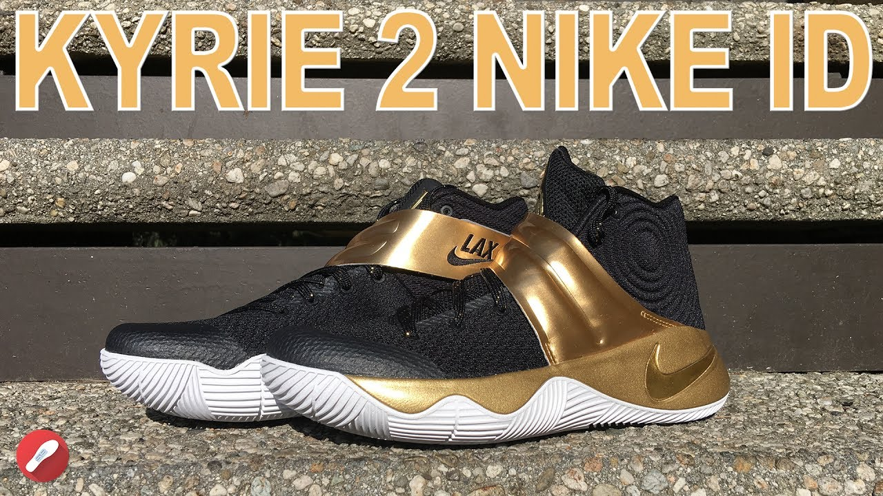 the latest 51544 142a4 inexpensive kyrie 2 nikeid strap 66510 0a823