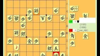 【将棋動画その46】☖四間飛車vs☗山田定跡①